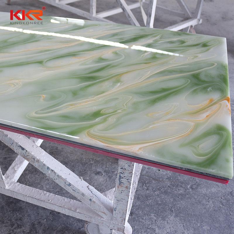KingKonree Acrylic Stone Translucent Solid Surface Sheets KKR - A026 Translucent Solid Surface Sheets image47