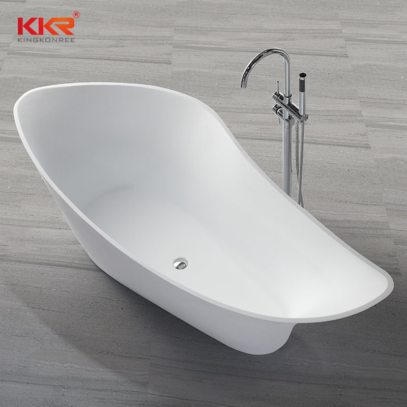 190cm Solid Surface Freestanding Bathtub KKR-B009
