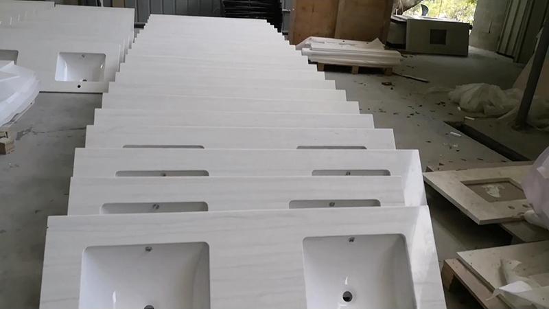 KKR Customized Integrated Vanity Sinks