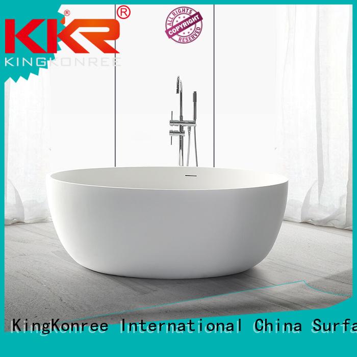 Hot solid surface bathtub b001 KingKonree Brand