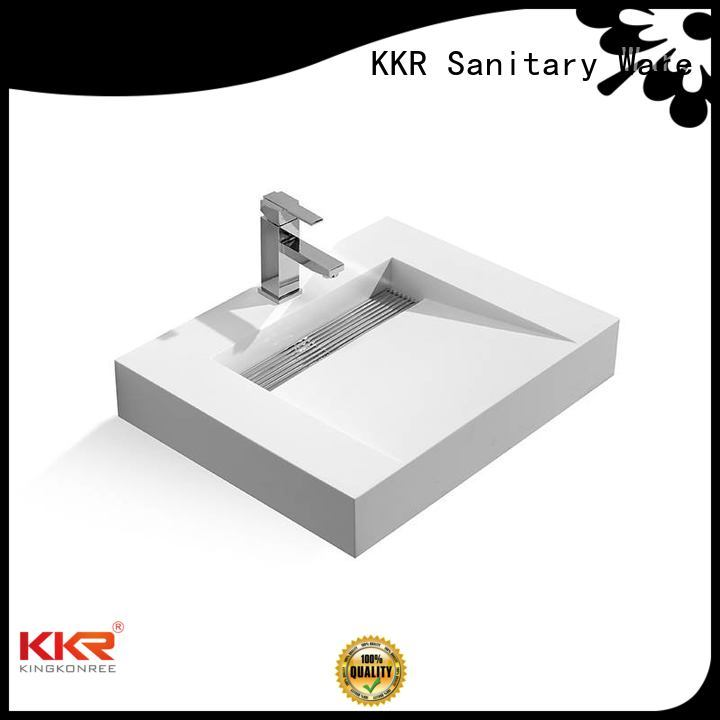 towel kkr fancy wall mounted wash basins KingKonree Brand company