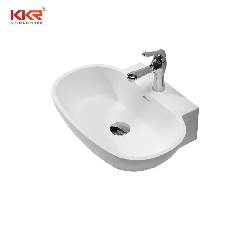 Artificial Stone Sanitary Ware Countertop Wash Basin KKR-1328