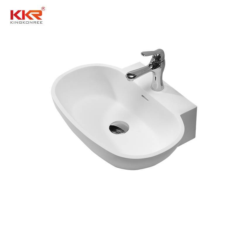 Artificial Stone Sanitary Ware Countertop Wash Basin KKR-1328