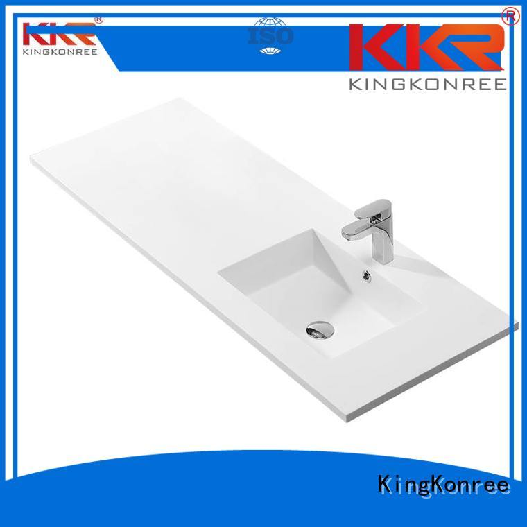 KingKonree Brand surface sanitary basin with cabinet price
