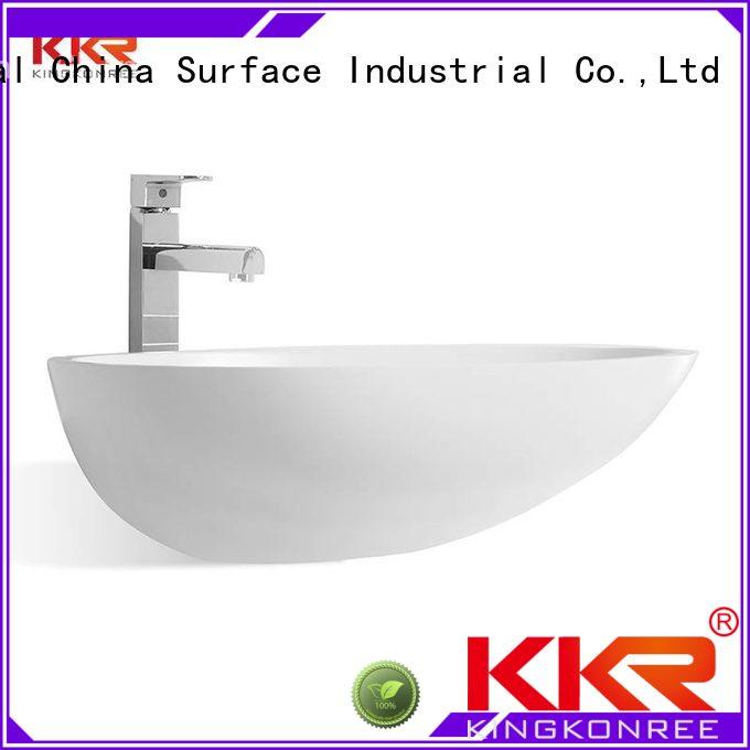 KingKonree Brand basin sanitary custom oval above counter basin