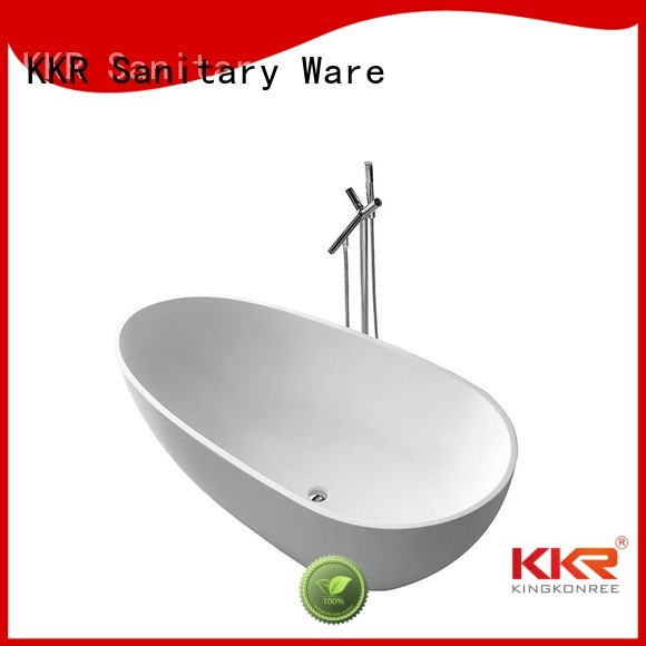 Wholesale stone solid surface bathtub KingKonree Brand