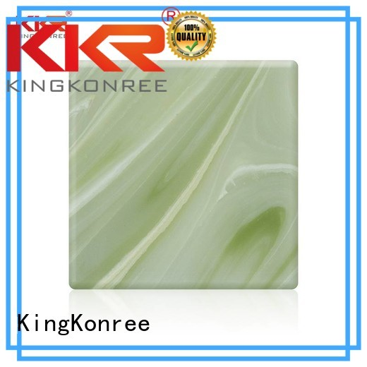 translucent solid surface kkr KingKonree Brand backlit translucent acrylic wall panels