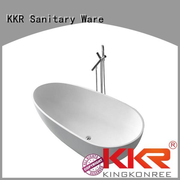 design bath OEM solid surface bathtub KingKonree