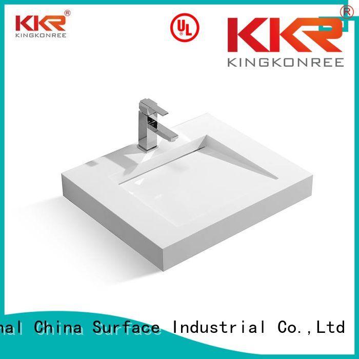 Wholesale size wall mounted wash basins KingKonree Brand
