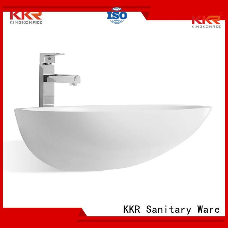 oval above counter basin square egg above counter basins selling KingKonree Brand