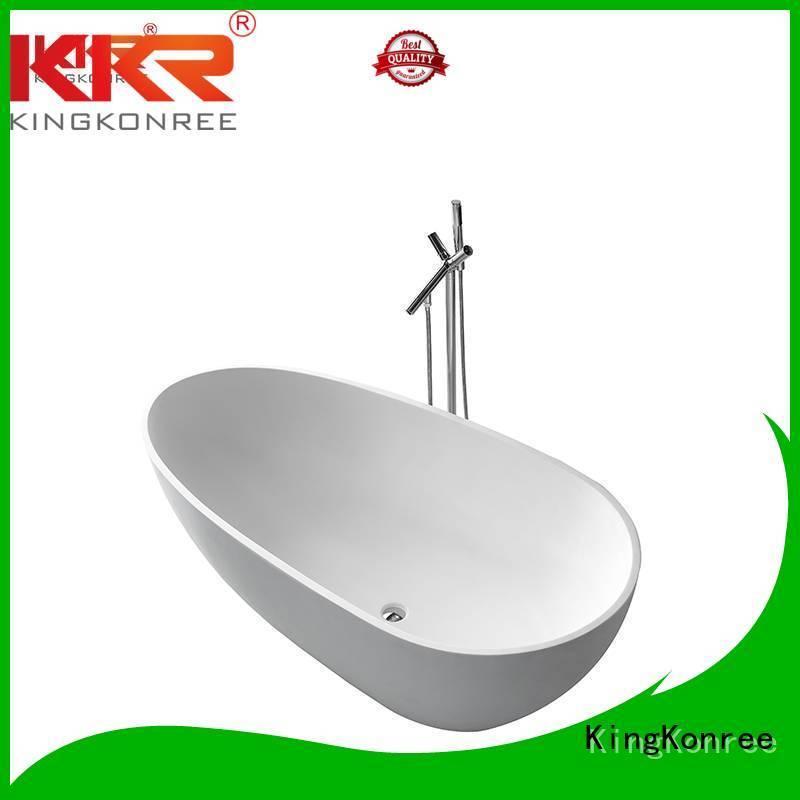 Wholesale design surface solid surface bathtub KingKonree Brand