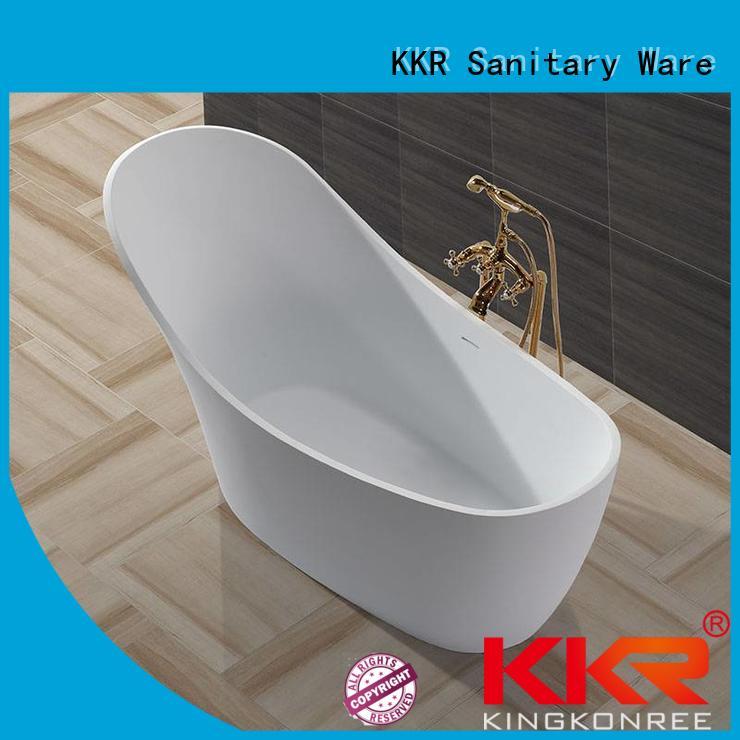 Hot acrylic Solid Surface Freestanding Bathtub b002c KingKonree Brand