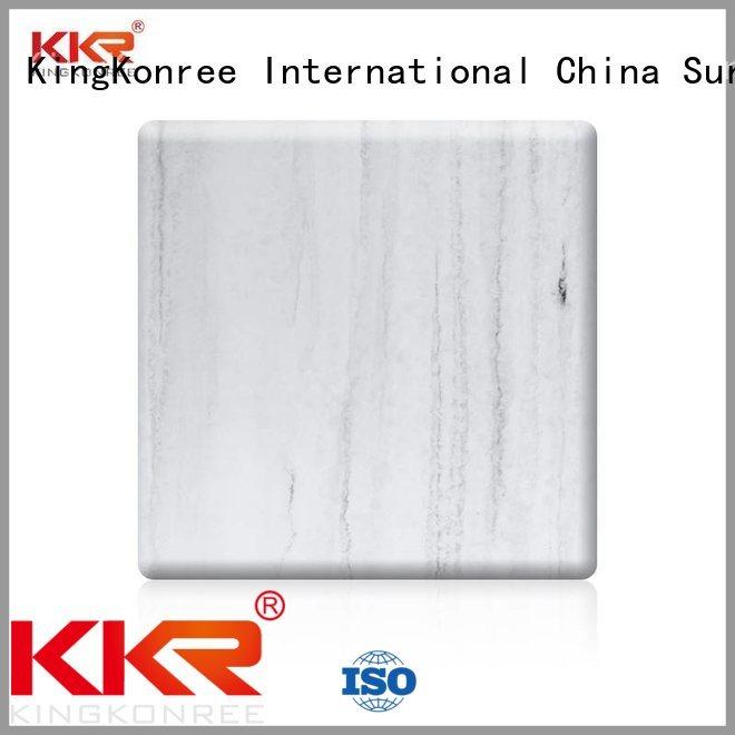 surface solid acrylic sheet artificial KingKonree company