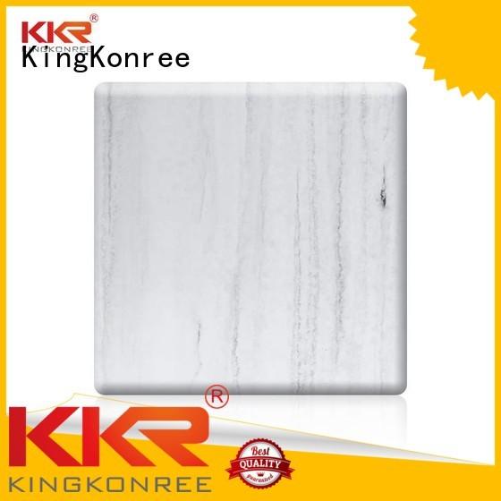 KingKonree Brand texture sheets solid solid surface sheets manufacture