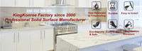 Solid Surface Manufacturer, Acrylic Solid Surface, Solid Surface Supplier, solid surface material