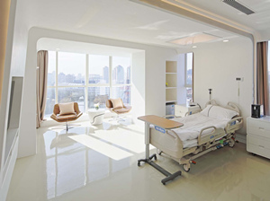 Hospital Solid Surface Walls