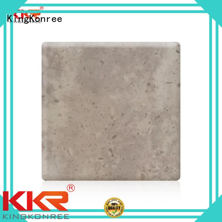 Wholesale marble solid acrylic sheet KingKonree Brand