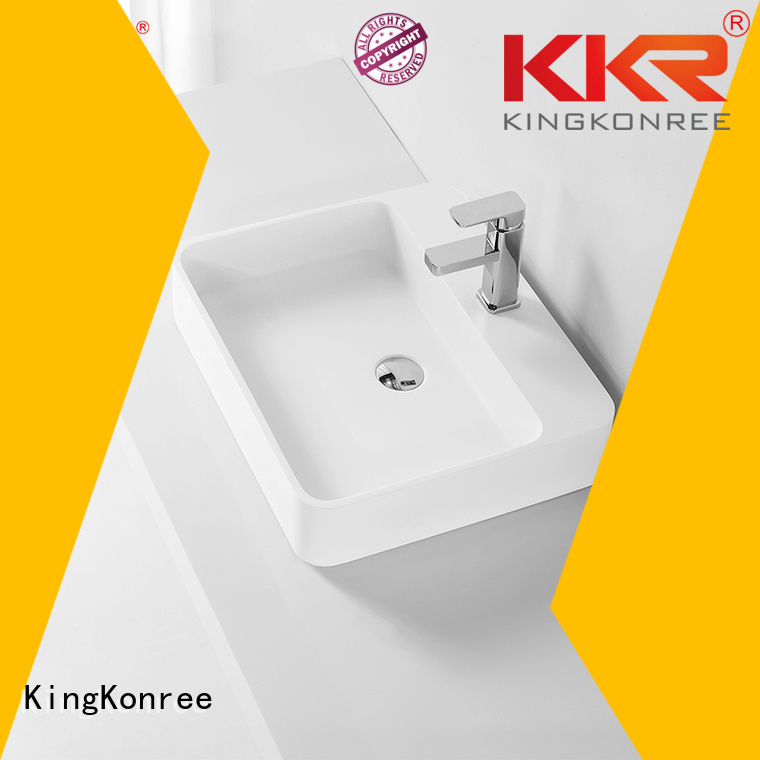 Wholesale wash oval above counter basin oval KingKonree Brand