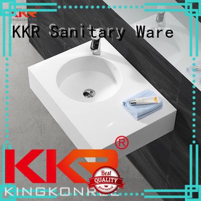 KingKonree Brand mount wall stone wall mounted wash basins