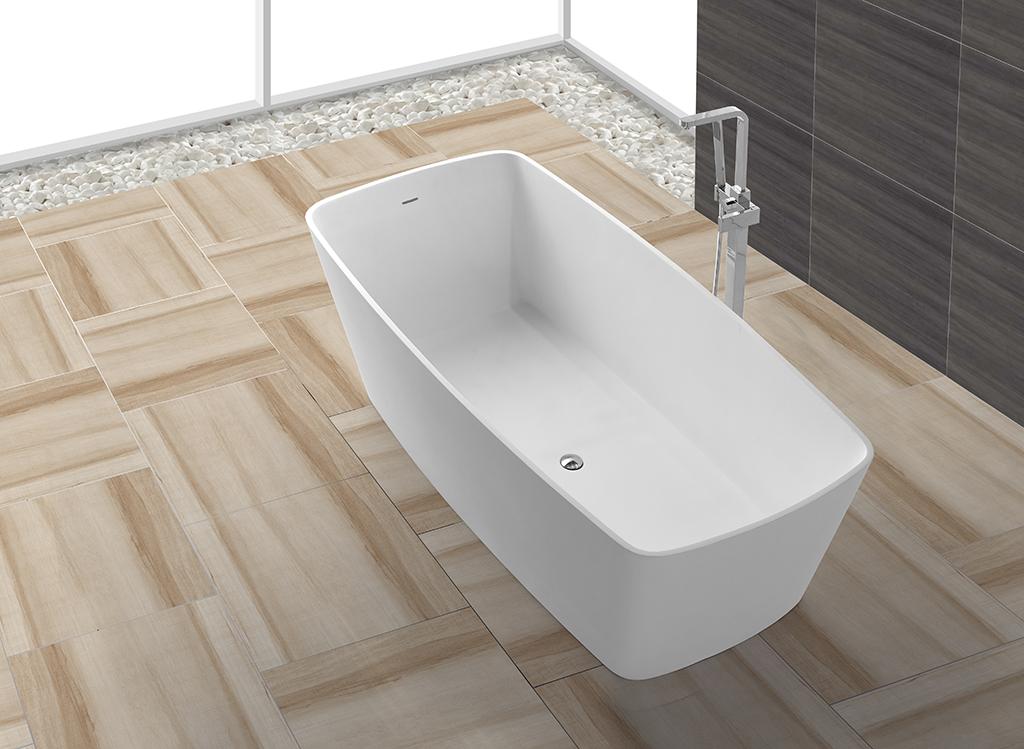 stone artificial solid surface bathtub selling KingKonree company