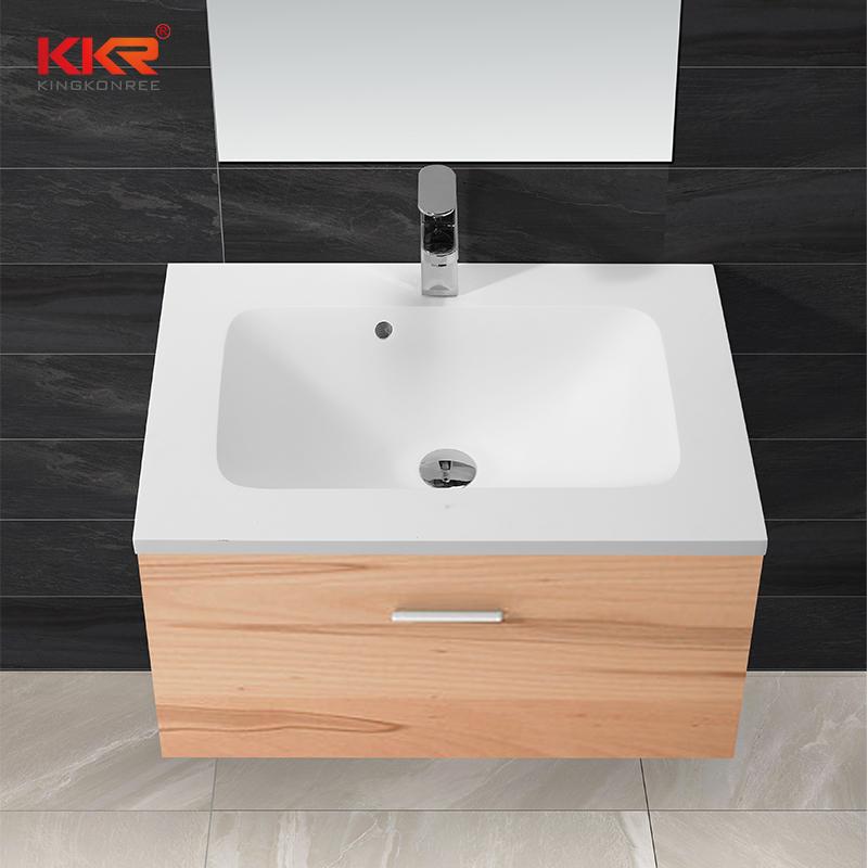 KingKonree Sanitary ware luxurious solid surface cabinet basin KKR-1523 Cabinet Basin image15