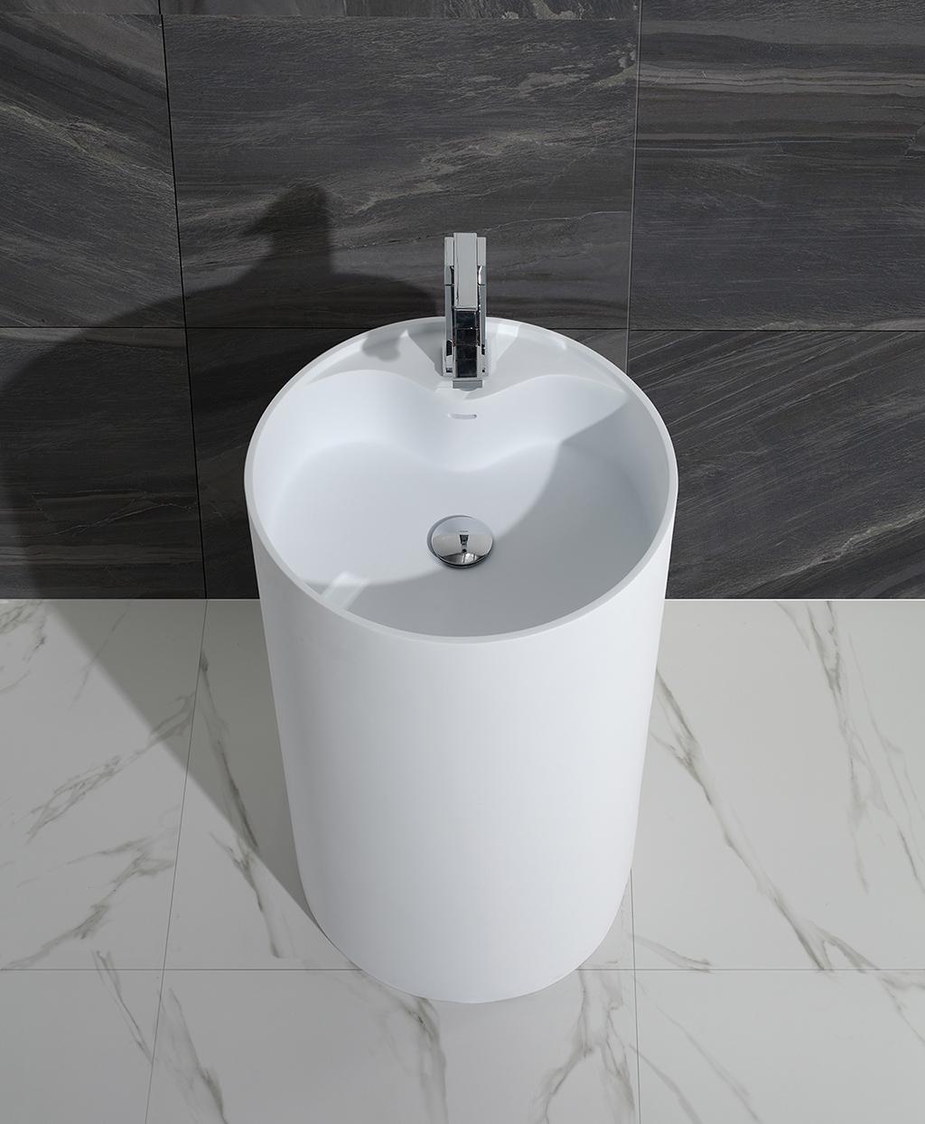 ware unique faux KingKonree Brand freestanding basin