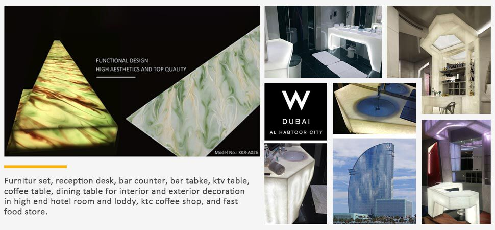 modified acrylic solid surface sheet series for indoors-19