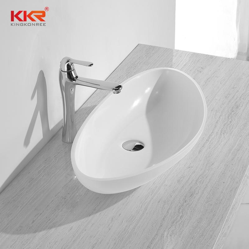 Solid Surface Countertop Basin KKR-1302