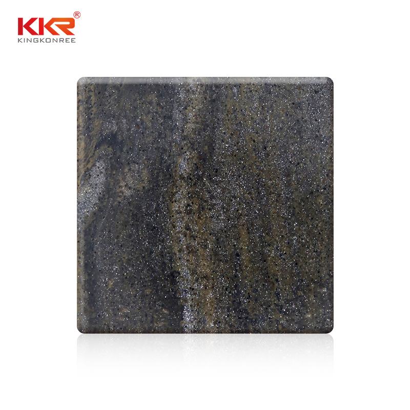 Hot Selling Lava Rock Modified Acrylic Solid Surface Sheet KKR-M8846
