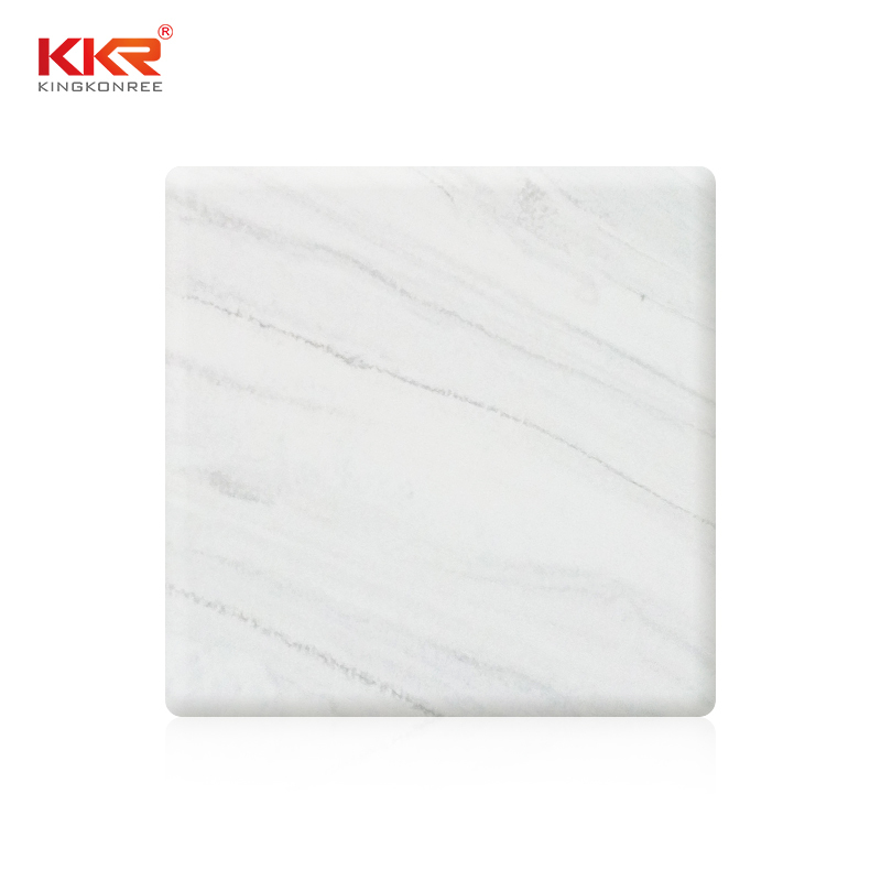Marble Color Pure Acrylic Solid Surface Sheets KKR-M6805