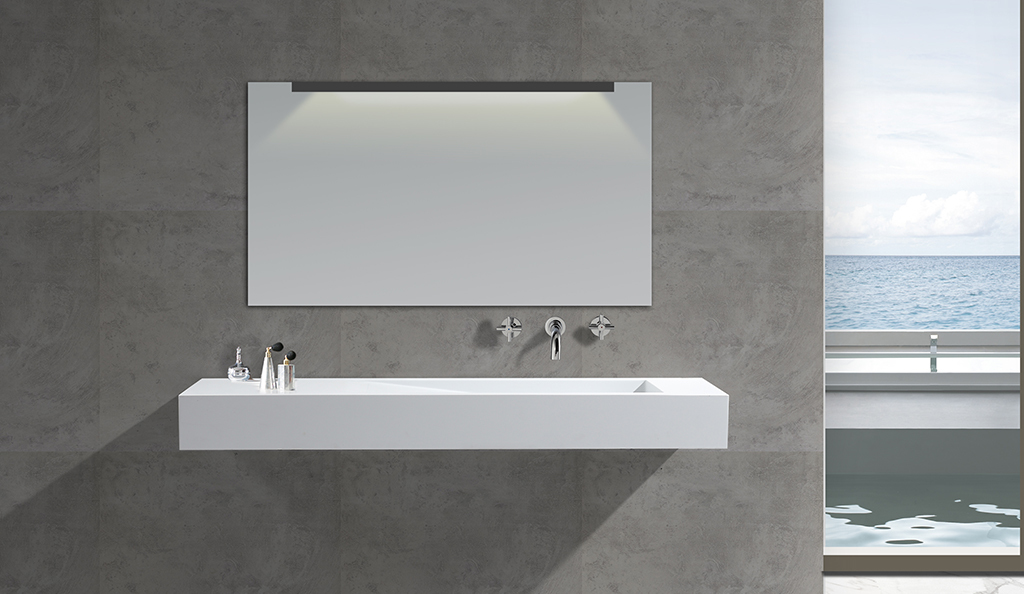 wall mounted bathroom basin surface mounted KingKonree Brand company