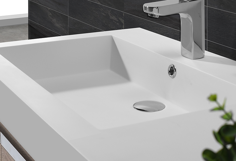 surface basin luxurious sanitary KingKonree Brand cloakroom basin with cabine supplier