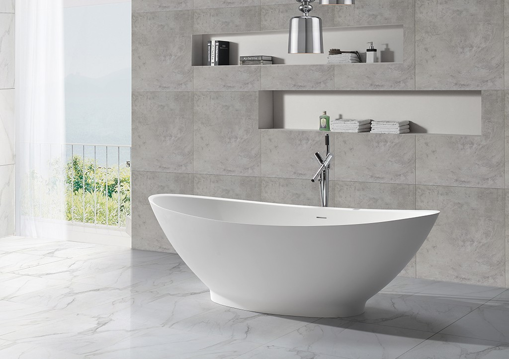 Solid Surface Freestanding Bathtub artificial bathtubs KingKonree Brand company
