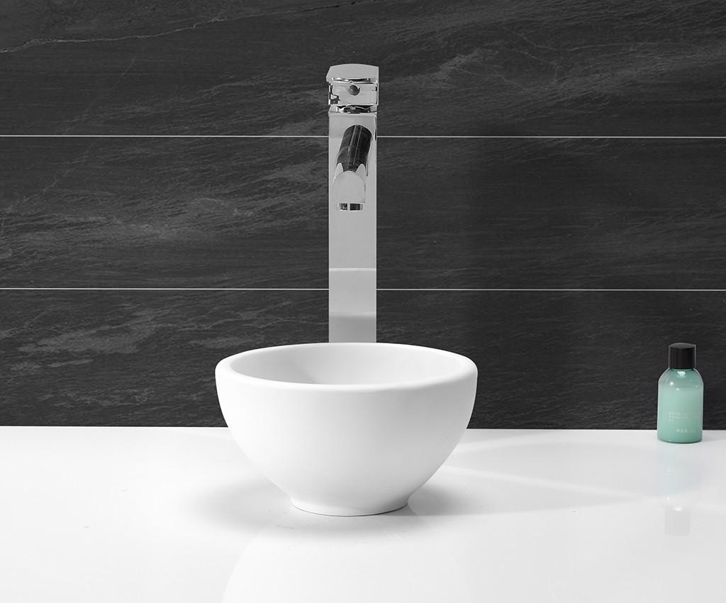 KingKonree Brand acyrlic pure basin custom oval above counter basin