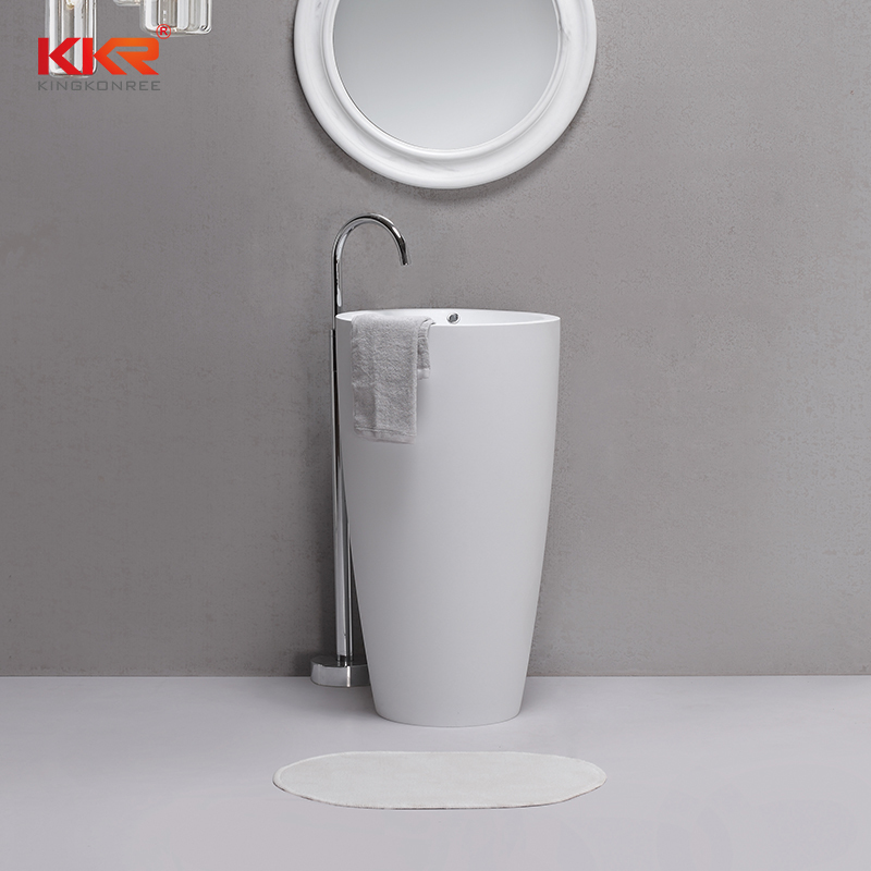 Hot Sales Solid Surface Freestanding Basin KKR-1594