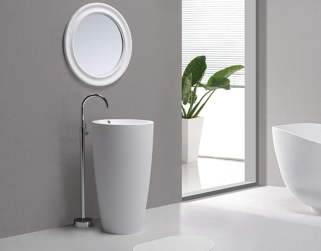 Hot free bathroom free standing basins marble KingKonree Brand