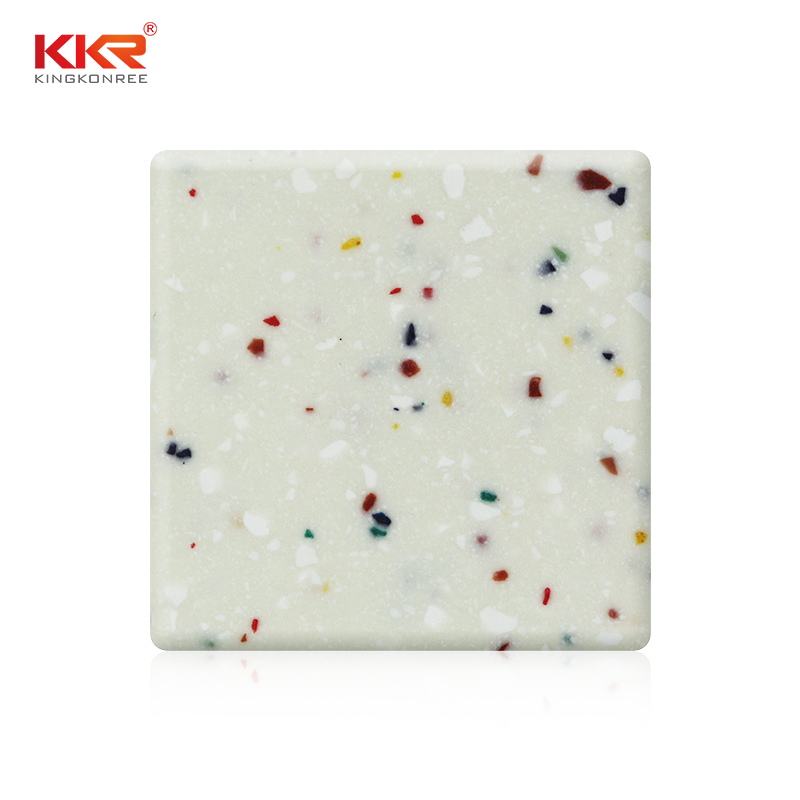Festival Color Artificial Stone Modified Acrylic Solid Surface Sheet KKR-M1645