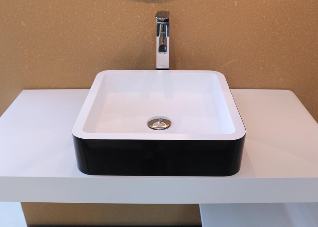 square oval above counter basins above KingKonree Brand company