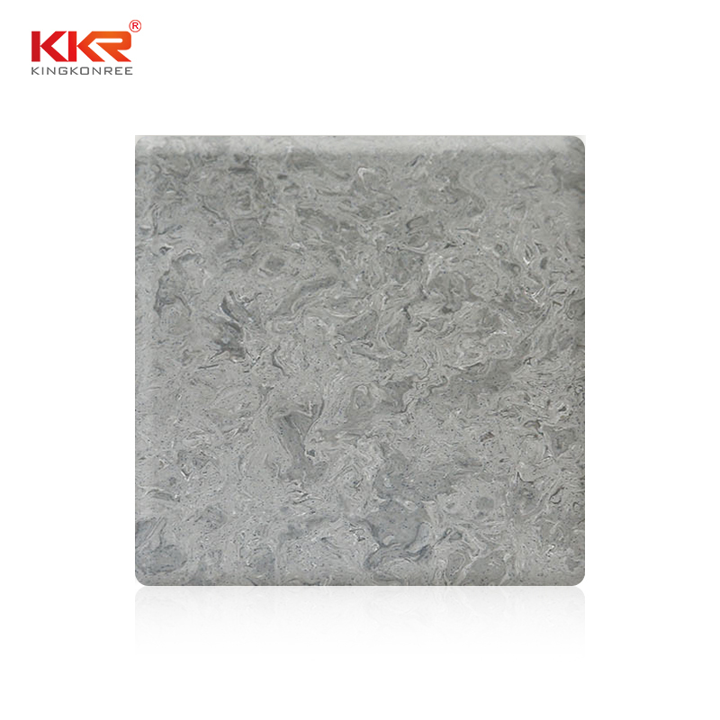 1220mm Width Artificial Marble Texture Pattern Acrylic Solid Surface Sheet KKR-M5803