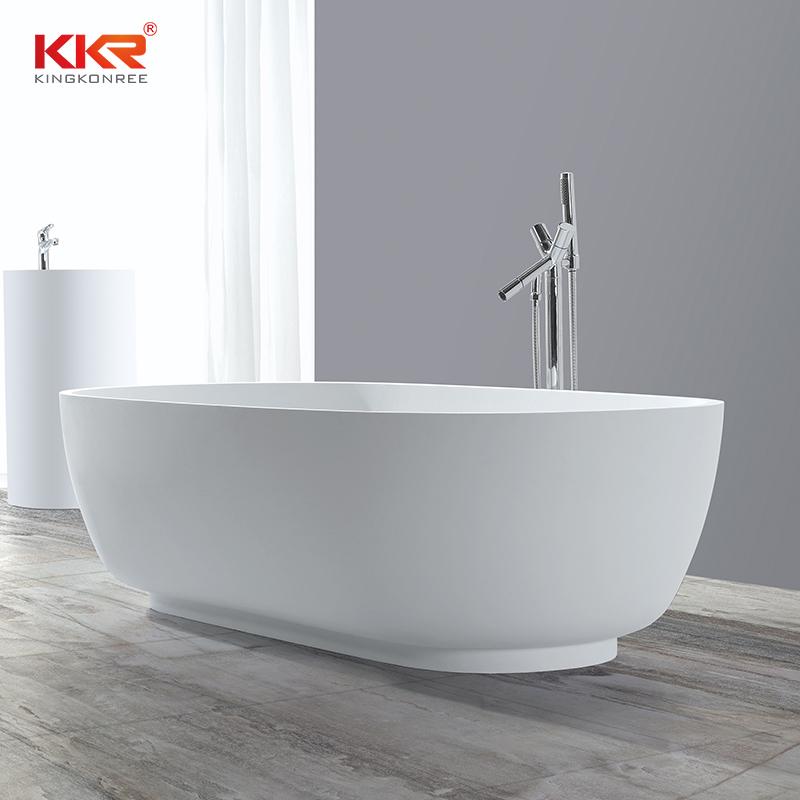 1810MM Length Acrylic Stone Solid Surface Freestaning Bathtub KKR-B036