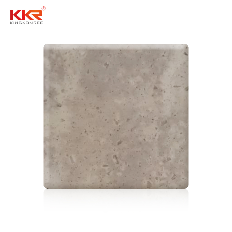Artificial Stone 100% Pure Acrylic Solid Surface Sheets With Texture Pattern KKR-M6810