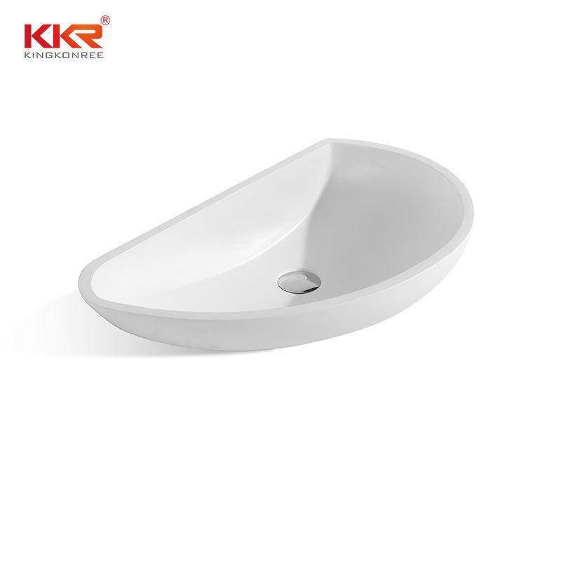 Acrylic Solid Surface Bathroom Sink KKR-1311