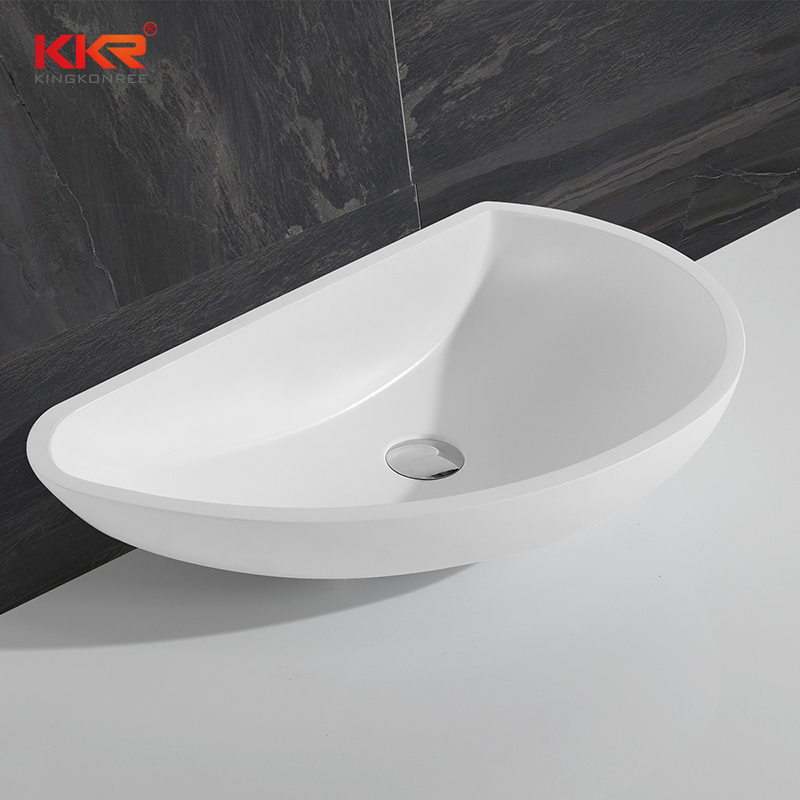 Acrylic Solid Surface Bathroom Sink KKR-1311