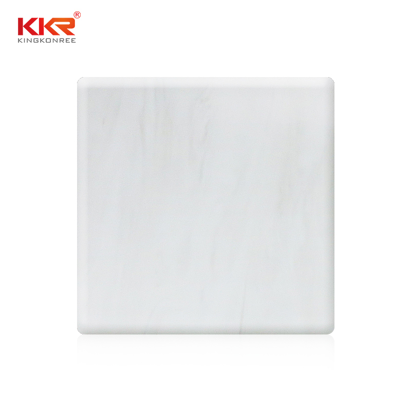 2440mm Artificial Marble Texture Pattern Solid Surface Sheets KKR-M8813