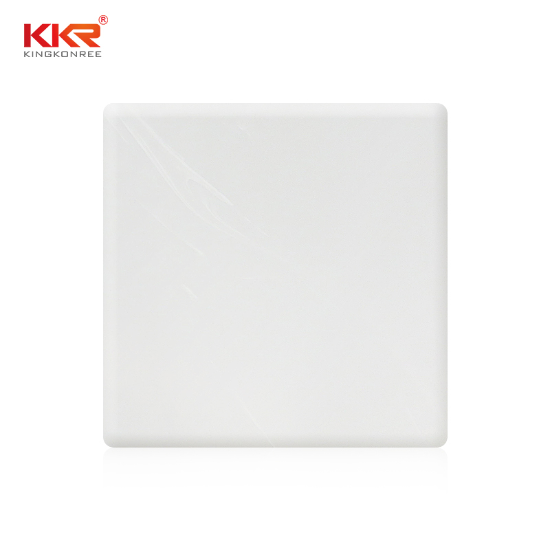 Acrylic Stone Solid Surface Sheets With Texture Pattern KKR-M8606