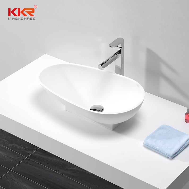 Abvoe Counter Solid Surface Wash Basin KKR-1506