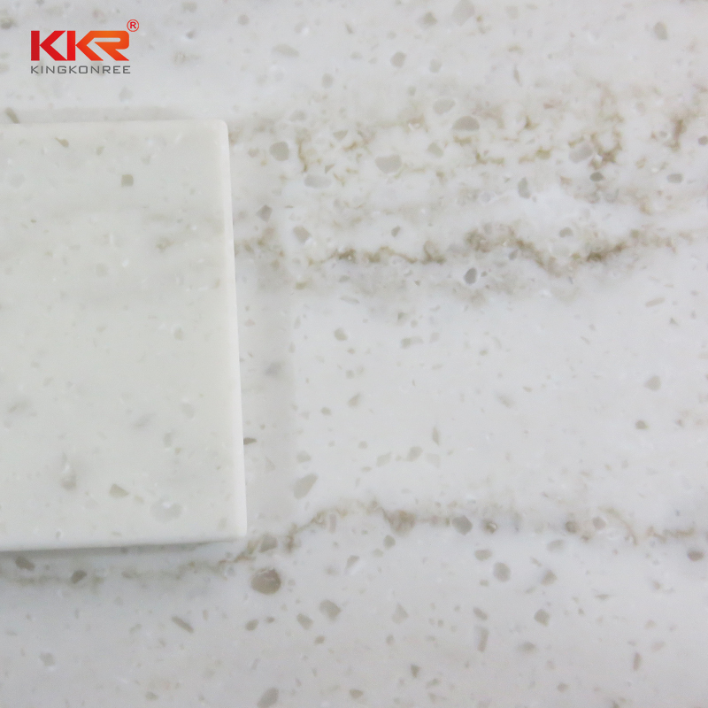 Artificial Marble Veining Pattern Acrylic Solid Surface Sheet KKR-M8826