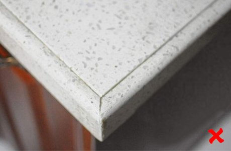 quartz stone bathroom tops under-mount for motel-20