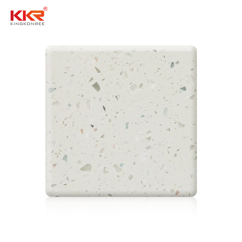 1220mm Modified Soid Surface Sheet With Chips Color KKR-M1658