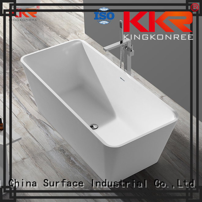 bath b001 solid surface bathtub polymarble KingKonree company